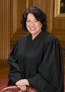 Photo of Justice Sonia Sotomayor