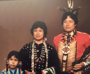 Photo of John Beaudin and family.